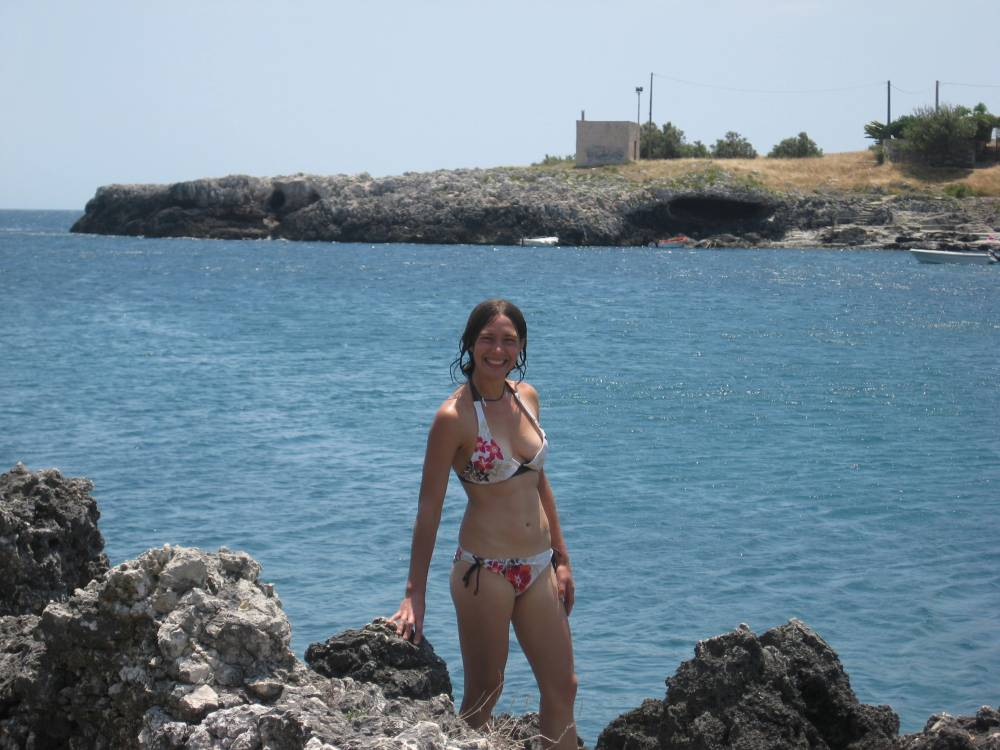 Swimming at Porto Badisco