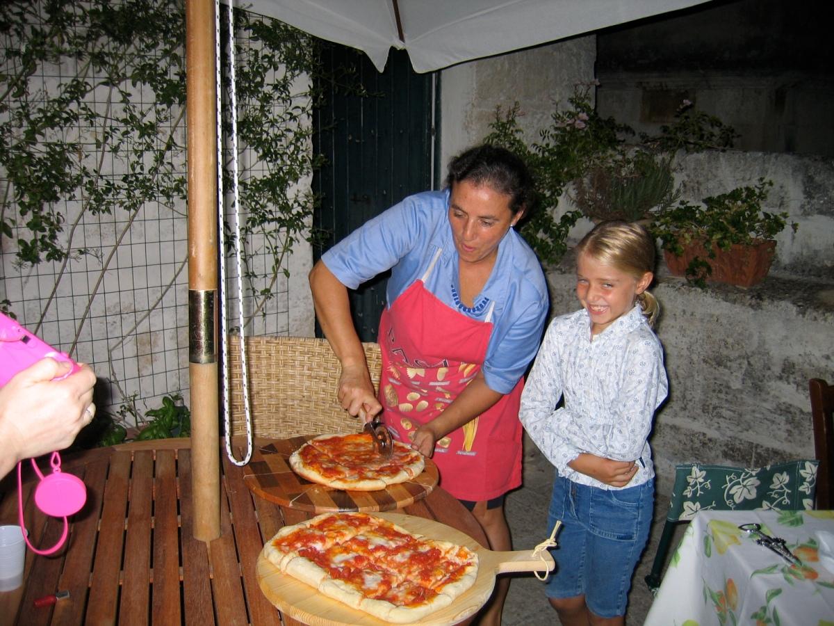 Pizza at Chiara's